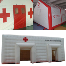 Inflatable-medical-tents