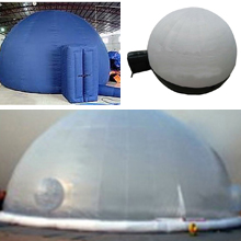 inflatable projective tents